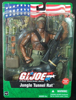 Source: Jungle Tunnel Rat (Vietnam Era) - African American. (2003). Retrieved December 1, 2004 from the World Wide Web: http://www.goodstufftogo.net/html/body_product1.asp?ItemID=8116.