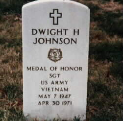 Dwight H. Johnson, May 7, 1947 - April 30, 1971