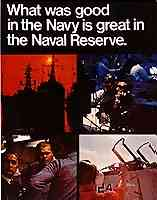 What was good in the Navy is great in the Naval Reserve