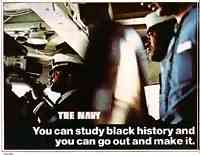 The Navy: You can study black history and you can go out and make it.